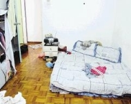 Condition of room where Jun Wei was locked in