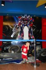 Gabriel with the Transformers