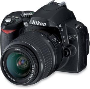 Nikon D40 digital SLR camera