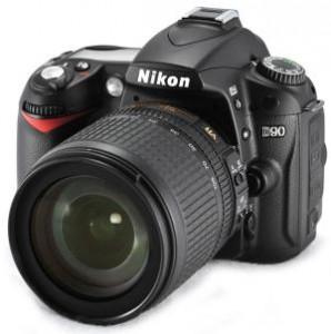Nikon D90 digital SLR camera